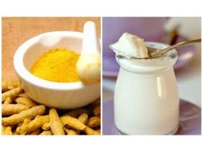 Thức uống bổ dưỡng từ tinh bột nghệ và sữa chua hỗ trợ hệ tiêu hóa