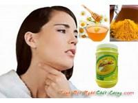 Bí quyết dùng tinh bột nghệ chữa bệnh viêm họng hiệu quả