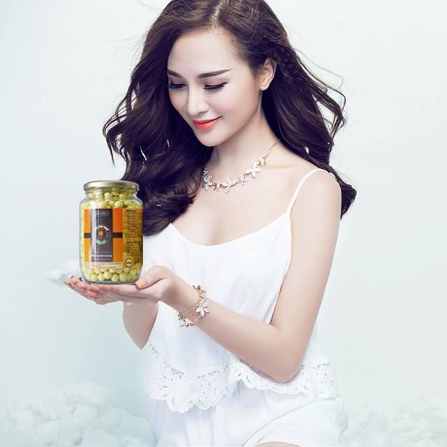 Viên tinh nghệ mật ong uống đẹp da
