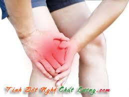 tinh bột nghệ chữa bệnh viêm khớp hiệu quả
