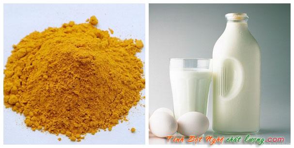 cách trị mụn bằng bột nghệ kết hợp sữa chua mang lại hiệu quả cao