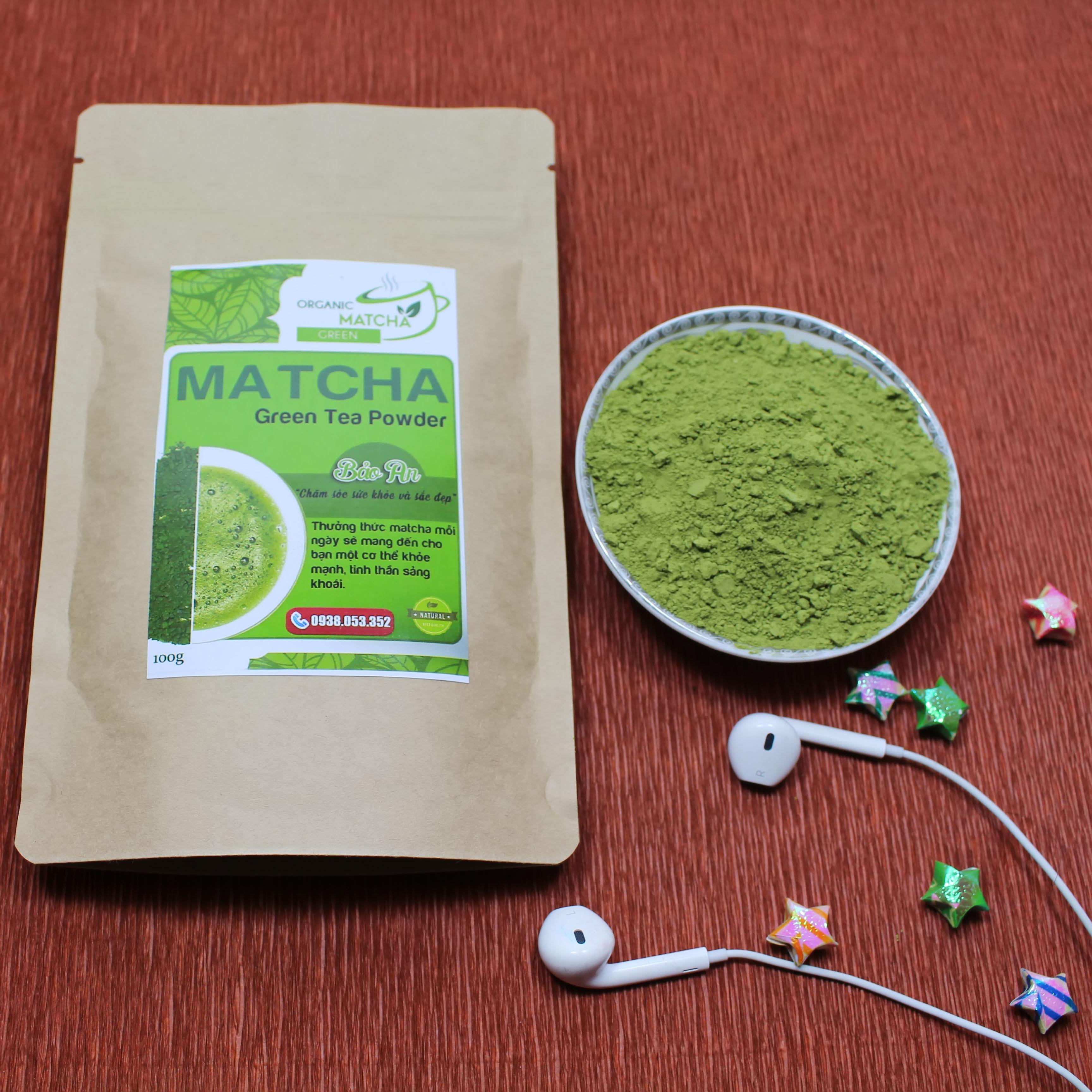 Bột trà xanh matcha Bảo An