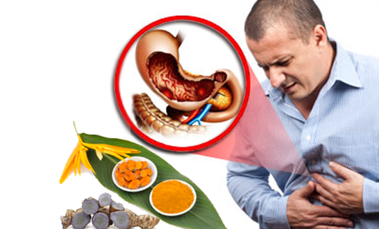 tinh bột nghệ chữa đau dạ dày